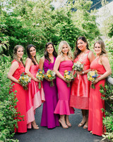 risa ross wedding brooklyn new york bridesmaids