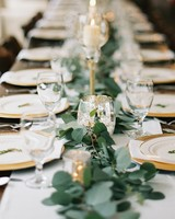 Simple Wedding Centerpiece Elegant Reception Table