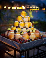 fresh fruit dessert tiers night