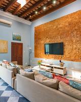 colorful eclectic san juan airbnb