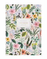 rifle paper co herb garden slim notebook