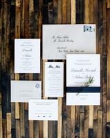 classic city wedding invitation