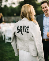 bride leather jacket