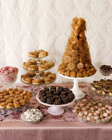 emer cooper wedding wisconsin dessert table