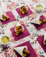 emer cooper wedding wisconsin snacks