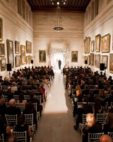 A Couple Getting Married at a Museum