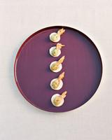 jenna alok wedding wine country california appetizers