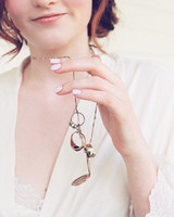 Larkin & Eric's Tennessee wedding - necklace