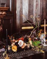 lori john wedding california flowers