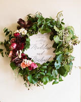 Fall Wedding Wreath