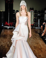 rivini by rita vinieris strapless blush mermaid wedding dress fall 2018