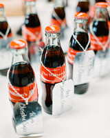 personalized coca cola favors