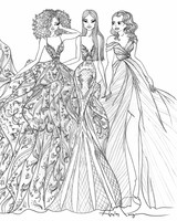 wedding sketches