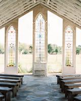 stained glass window wedding venue