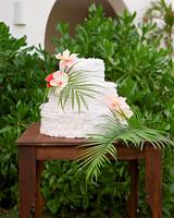 ariel trevor wedding tulum mexico cake pinata