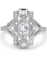 "Brilliant Earth ""Tarah"" vintage-inspired engagement ring"