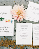 Classic Wedding Invitations for Traditional Brides and Grooms