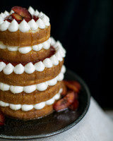 Plum and Cardamom Wedding Cake