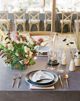 Emma mike California wedding Corbin gurkin table setting