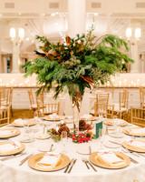 lauren christian christmas wedding high centerpiece