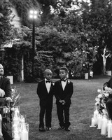 lyndsey magellan wedding processional boys