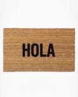 morning registry items reed wilson design hola doormat