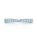 odd wedding band tiffany harmony bead set diamond ring