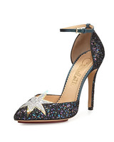 Charlotte Olympia Glittering d'Orsay Pump