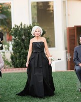 mother of the bride black dress