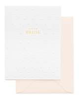 """Note to Bride"" Greeting Card"