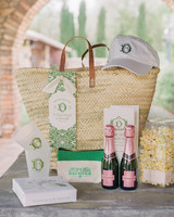 80 welcome bags from real weddings martha stewart weddings wedding welcome bag junglespirit Images