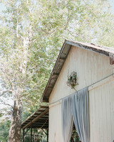 Emma mike California wedding Corbin gurkin wreath