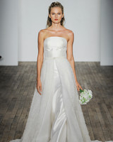 Allison Webb Halter A-Line Wedding Dress Fall 2018