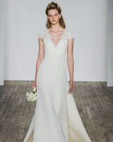 Allison Webb Cap Sleeve Wedding Dress Fall 2018