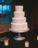 monogram wedding cake sean money elizabeth fay jim smeal