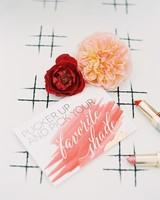 lipstick favors