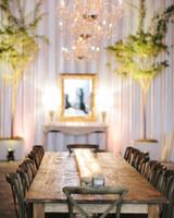 36 simple wedding centerpieces martha stewart weddings candle wedding centerpieces junglespirit Gallery