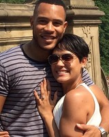 Trai Byers and Grace Gealey marriage announcement on Instagram