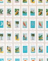 ariel trevor wedding tulum mexico seating cards