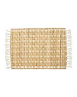 natural woven place mat