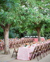 rehearsal dinner tables