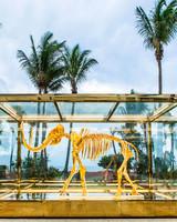 Faena Hotel Miami Beach, gilded Woolly Mammoth