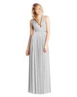 grey silver bridesmaid dresses twobirds classic ballgown