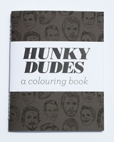 Hunky Dudes Coloring Book