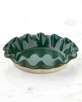 Emilie Henry Artisan Deep Ruffled Pie Dish