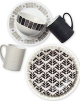 printed dinnerware