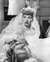 Movie Wedding Dresses The Long Long Trailer Lucille