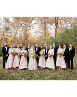 wedding party bridesmiads groomsmen