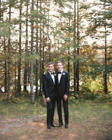 tory sean wedding lake placid new york couple grooms
