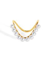 Perle Heirloom 9-Karat Gold Pearl Ring